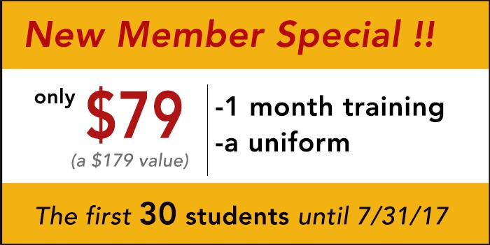 Golden-State-Taekwondo-san Mateo-special-offer
