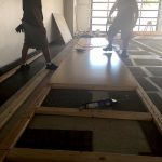 Floor is going in today!